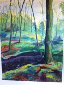 Skov ved Vinderslev 1