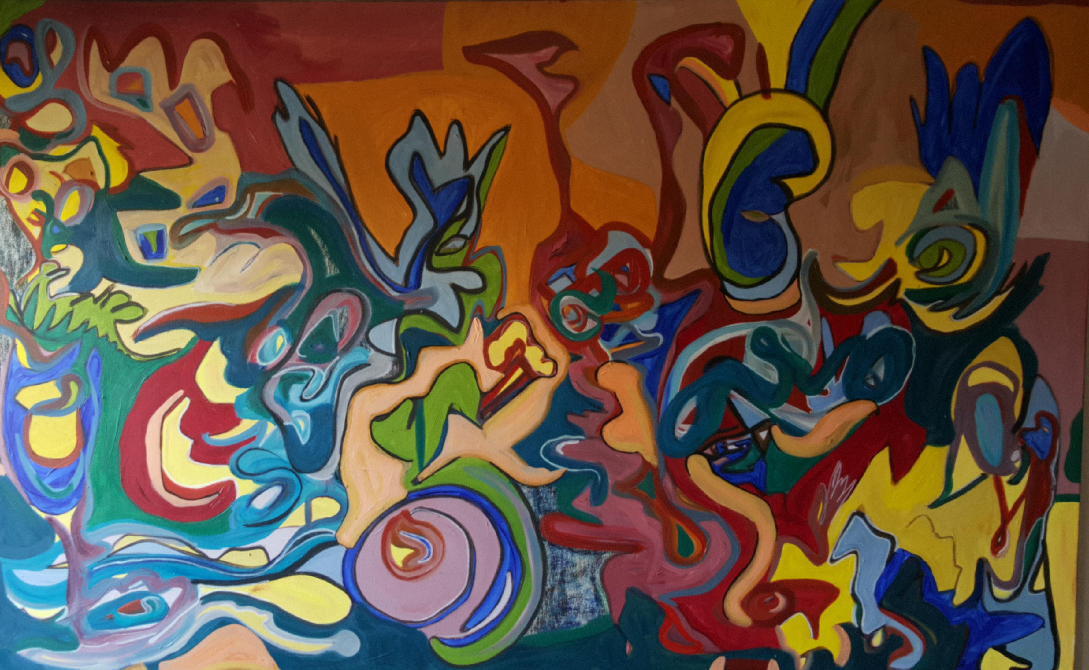 aaby-kunst.dkAbstrakte malerier Peter